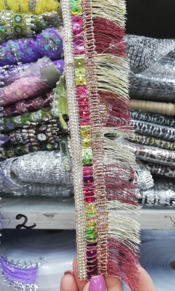 Banda textila cu model