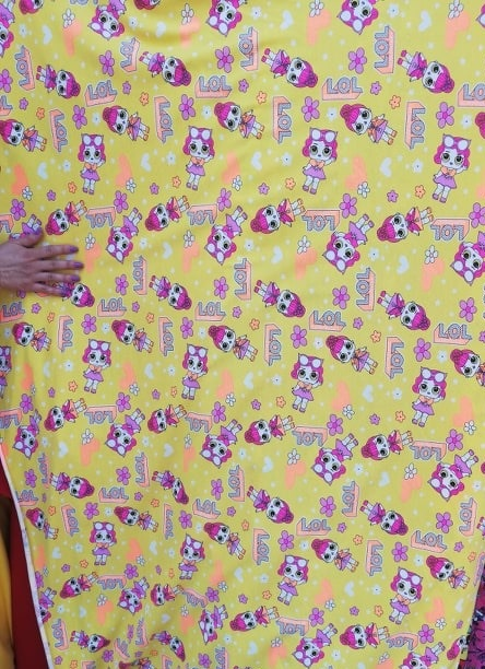 Material textil pentru copii