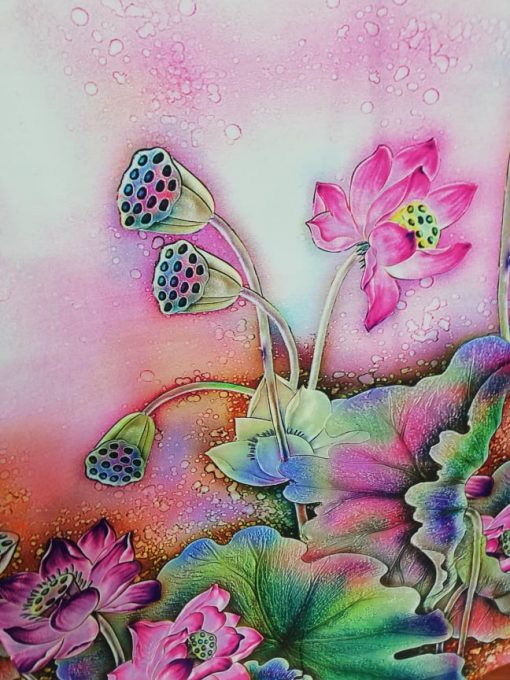 Tafta imprimata florala