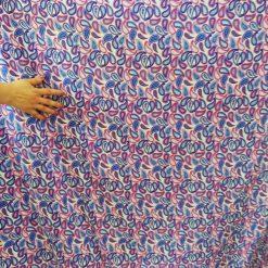 Vascoza imprimata pentru rochii