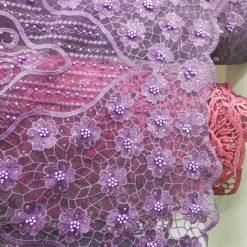Material brodat rochii