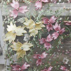 Flori pe tull rochii