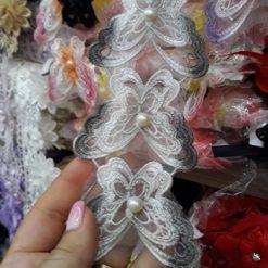 Banda floare pentru rochii