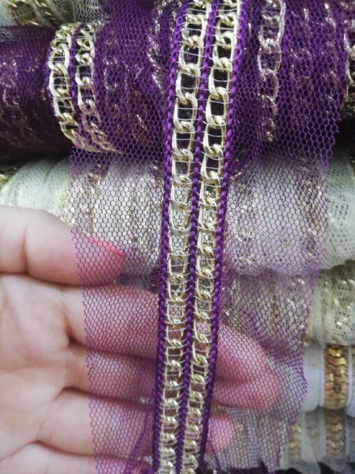 Banda textila cu lant