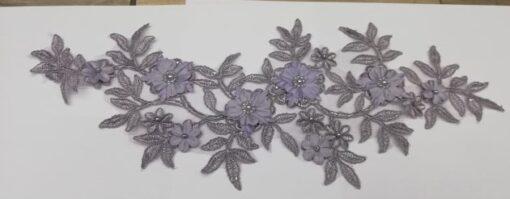 Floare brodata rochii