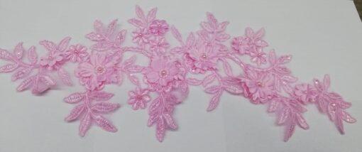 Aplicatie floare roz