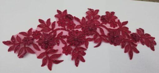 Aplicatie floare metraj