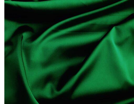 Satin elastic verde smarald