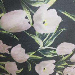 Stofa groasa cu flori