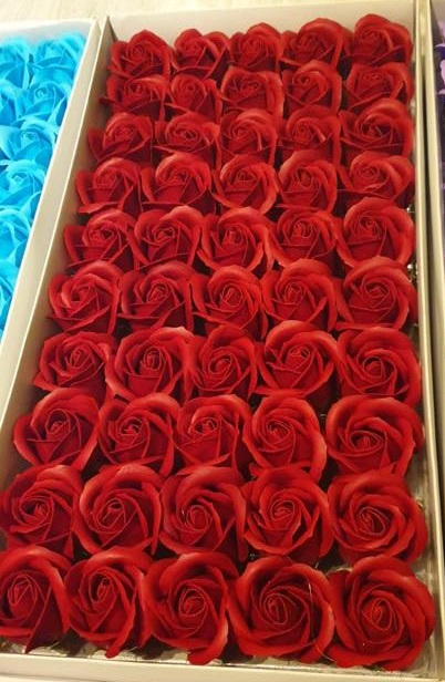 Flori din sapun grena