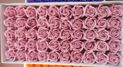 Flori sapun cutie