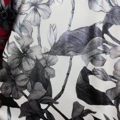 Stofa elastica cu trandafiri