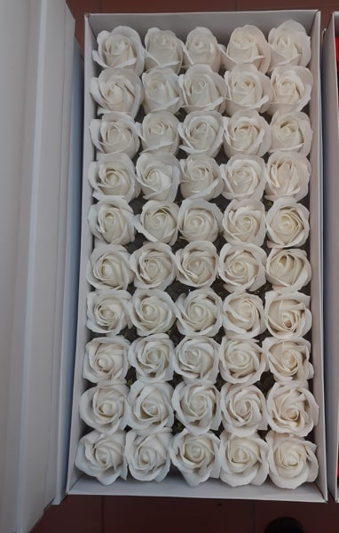 Flori de sapun aranjamente