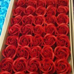 Trandafiri flori din sapun