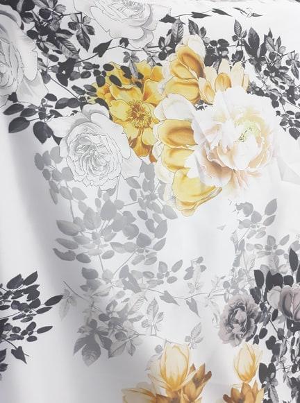 Tafta cu flori metraj