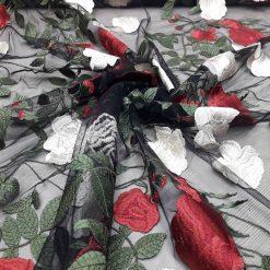 Material flori brodate