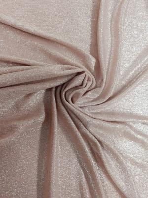 Material lurex elastic