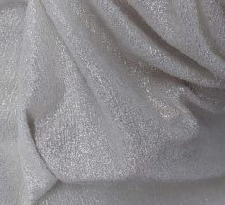 Material lurex ivoire
