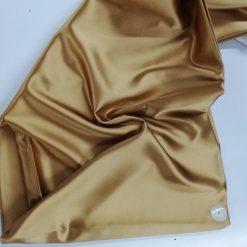 Satin elastic auriu