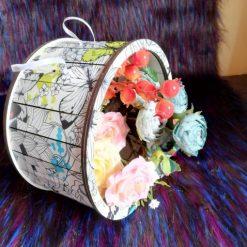 Cutie decorativa pentru flori