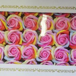 Cutie flori din sapun