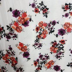 Vascoza imprimata material textil