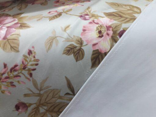 Material draperie flori digitale