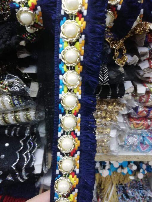 Banda decorativa cu perle