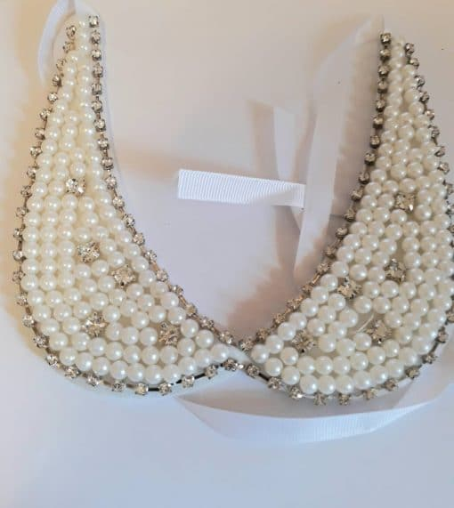 Guler detasabil cu perle