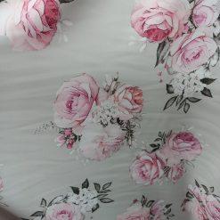 Material stofa cu flori